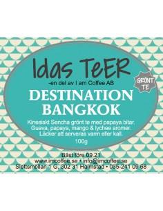 Destination Bangkok - Grönt te