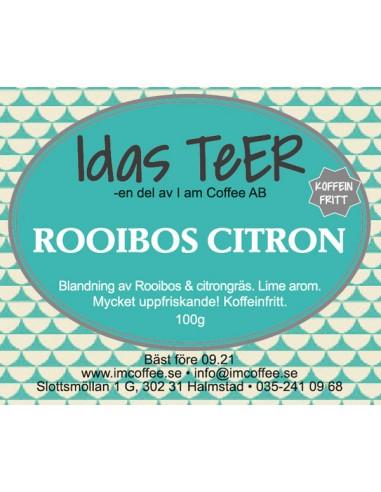Rooibos Citron - Koffeinfritt